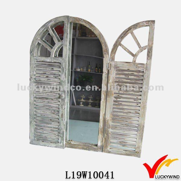 shabby chic porta ad arco specchio-Specchio-Id prodotto:663772286 ...
