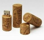 hot selling best cheap christmas promotion gift usb2.0 rectangle wooden Wine Corks usb disk