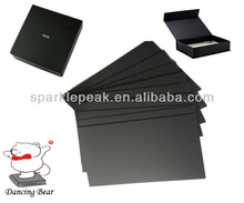 Thick black paper board for packaging boxes