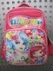 2012 latest girl's school bag Pink