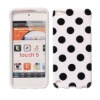 Polka Dot protective case for ipod touch 5