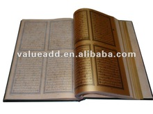 gold islam Holy Quran Book
