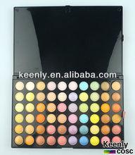Best 120 color eyeshadow pallet ;Best price ;smokey eye ;test certification and printing logo