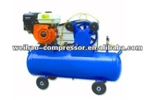 italy type two stage portable piston air compressor gas