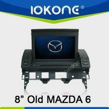 2din HD 480*800 old Mazda 6 Car DVD Radio with GPS