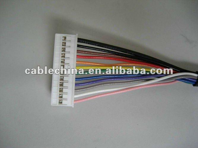 Auto wire harness compliant RoHS