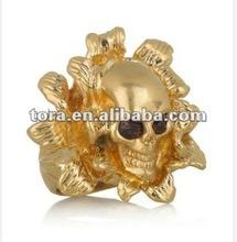 2012 latest fashion skull ring