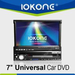 1din Universal Touchscreen Car DVD GPS with Video input