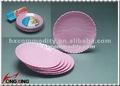 Microondas seguro de plástico prato, Placa de plástico