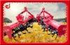 Gear drive tractor mounted farm soil tilling machine