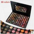 Pro88 a todo color de sombra de ojos profesional de sombra colorete poder lip gloss set de maquillaje paleta de sombra de ojos #88p05
