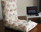 flower cotton fabric folding chair