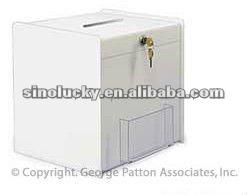 acrylic Ballot Box, Employee Suggestion Box (key lock)