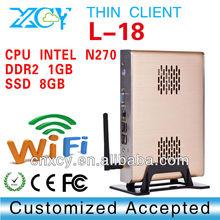 single board computer Desktop Virtualization Intel N270 1.6G XCY L-18 Touch screen tablet pc