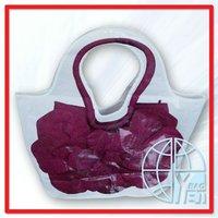 Plastic Hobo Tote Bag Unique Design Paper Bag