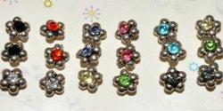 multiple casting star shape earring set