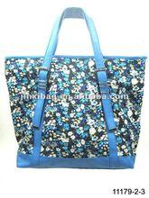 Popular printed flower bags handbags women