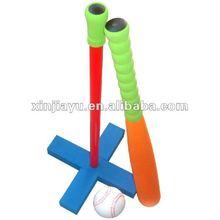 EVA baseball bat toy,NBR mini baseball ball toy,customized color and size