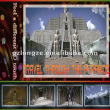 Travel Through the Pyramids Movie for 5D/6D/7D/8D Motion Cinema Simulator Device