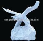 Garden White Marble Eagle Statues