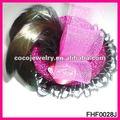 2013 nova moda pena bowknot mini top hat