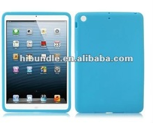 rubber soft silicone case for apple ipad mini