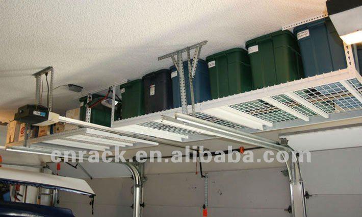 Tag re de plafond cintres id du produit 669760406 french for Rangement au plafond garage
