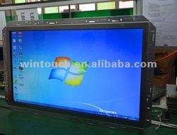 Multi touch screen open frame display monitor IR optical (2points,4points,6points,10points) gaming, vending, kiosk