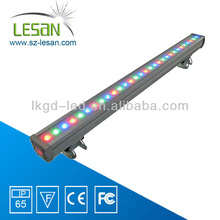 36W IP65 led linear light wall washer light