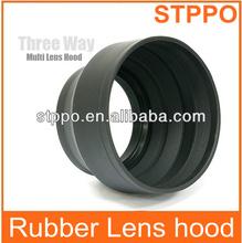 STPPO Lens Hood 58mm Rubber Lens Hood Camera Lens Hood for Canon 18-55mm
