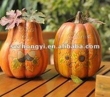 resin pumpkin/decorative artificial pumpkin/pumpkin gifts