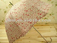 fair lady's mini decorative umbrella for rain wind uv dome shaped umbrella