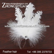 Wholesale fashion and cheaper purity feather hair accessories