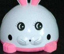 new speaker 2012 Cartoon rabbit usb mini card speaker with small night light function