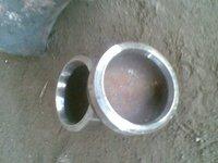 Seamless alloy steel cap