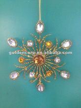 Christmas Metal Snowflake Ornaments