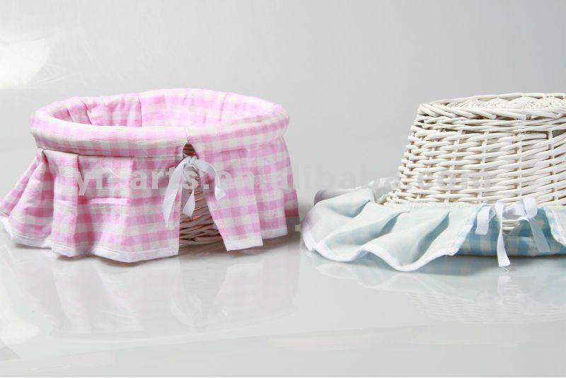 Como decorar una canasta para un beb imagui - Como decorar una cesta de mimbre ...