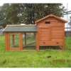 Cheap Small Outdoor Wooden Pet House With Metal Floor