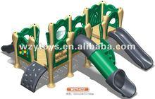 Kids plastic rotational outdoor play ground equipment