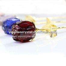 Wedding gift glass rose