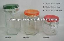airtight glass canister set