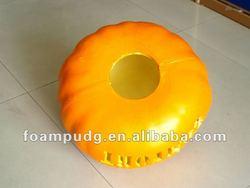 In 2012 the new rave Halloween promotional gifts PU hard foam pumpkin