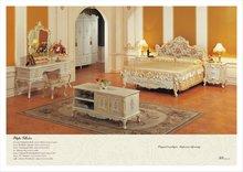 FP Classic bedroom furniture - solid wood hand carved bedroom set