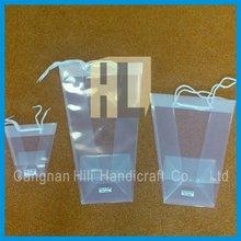 plastic flower sleeve packaging bag