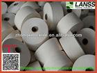 6s~20s raw/dyed/bleach denim fabric recycle yarn