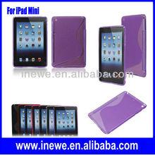 For iPad Mini S line Transparent soft case