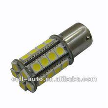 Automotive led bulb 1156 1157 base with 30 pieces 5050SMD LED, 24v AC led bulb marine light,