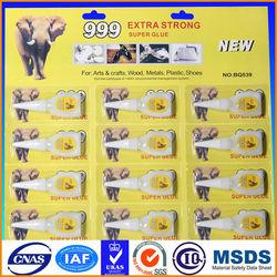 wholesale elephant 3g super glue ,fast super glue 12pcs super glue