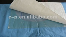 50gsm blue color SMS Craniotomy drape with CE and ISO13485 Certificate for hospital