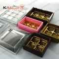 prata embalagem caixa de chocolate